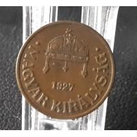 998.  1927  1 fillér